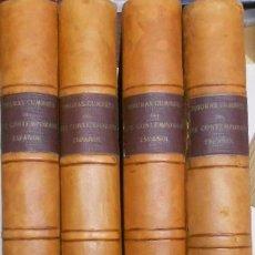 Libros: FIGURAS CUMBRE DEL ARTE CONTEMPORANEO ESPAÑOL, 20 VOLUMENES EN 4 ESTUCHES CON LOMO EN PIEL 27X39 CMS. Lote 64570379