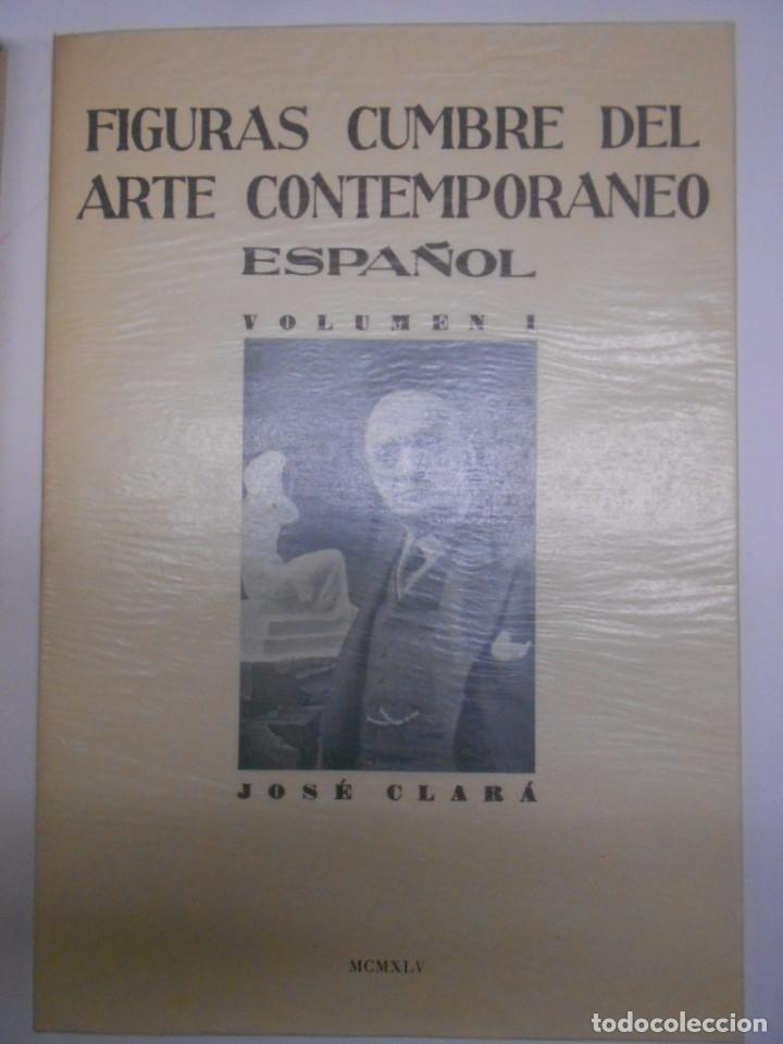 Libros: FIGURAS CUMBRE DEL ARTE CONTEMPORANEO ESPAÑOL, 20 VOLUMENES EN 4 ESTUCHES CON LOMO EN PIEL 27X39 CMS - Foto 2 - 64570379