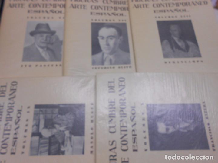 Libros: FIGURAS CUMBRE DEL ARTE CONTEMPORANEO ESPAÑOL, 20 VOLUMENES EN 4 ESTUCHES CON LOMO EN PIEL 27X39 CMS - Foto 11 - 64570379