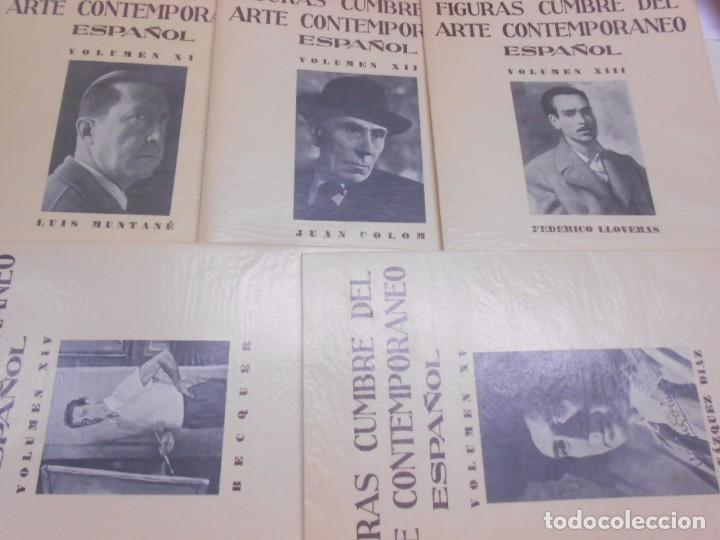 Libros: FIGURAS CUMBRE DEL ARTE CONTEMPORANEO ESPAÑOL, 20 VOLUMENES EN 4 ESTUCHES CON LOMO EN PIEL 27X39 CMS - Foto 17 - 64570379