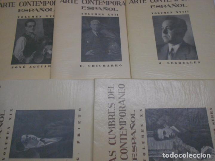 Libros: FIGURAS CUMBRE DEL ARTE CONTEMPORANEO ESPAÑOL, 20 VOLUMENES EN 4 ESTUCHES CON LOMO EN PIEL 27X39 CMS - Foto 23 - 64570379