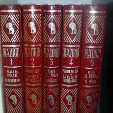Libros: MADRID COLECCION 5 TOMOS ESPASA CALPE 1979. Lote 64570667