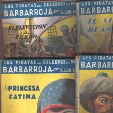 Libros: GRANDES NOVELISTAS ESPAOLES SERIE HISTORICA: BARBARROJA. Lote 64685245