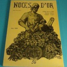 Libros: LLIBRET DE LA FALLA DOCTOR OLÓRIZ - FABIÁN I FUERO. NOCES D'OR 1988. FALLAS DE VALENCIA. Lote 64993443