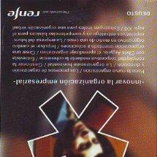 Libros: HARVARD-DEUSTO. - INNOVAR LA ORGANIZACIÓN EMPRESARIAL.. Lote 65063898