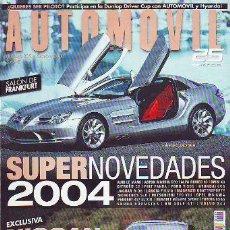 Libros: AUTOMOVIL Nº 309. SUPERNOVEDADES 2004.. Lote 65069886
