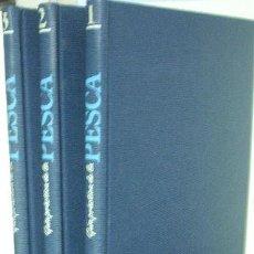 Libros: GUIA PRACTICA DE LA PESCA (VOLUMENES 1-2-3).. Lote 65201734