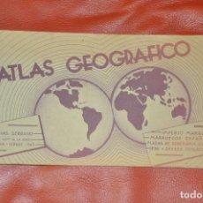 Libros: ATLAS GEOGRAFICO , IMPERIO MARROQUI , MARRUECOS ESPAÑOL , IFNI , TETUAN 1943 , FCO, RIVAS. Lote 65756878