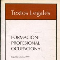 Libros: FORMACION PROFESIONAL OCUPACIONAL.. Lote 65372723