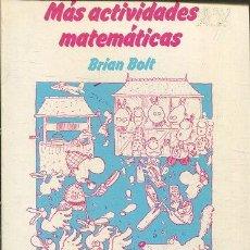 Livros em segunda mão: BOLT BRIAN. - MAS ACTIVIDADES MATEMATICAS.. Lote 65386991