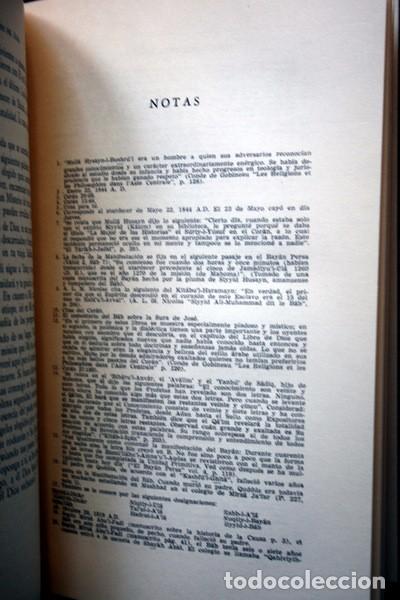 Libros: LOS ROMPEDORES DEL ALBA - BABISMO - NARRACION NABIL DE LOS DIAS TEMPRANEROS DE LA REVELACION BAHA´I - Foto 5 - 66132846