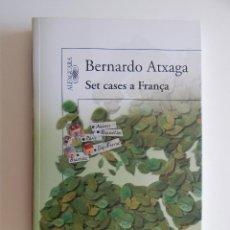 Libros: SET CASES A FRANÇA - BERNARDO ATXAGA. Lote 66755814