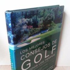 Libros: NICK WRIGHT - LOS MEJORES CONSEJOS DE GOLF DE TODOS LOS TIEMPOS - EDICIONES TUTOR 2004. Lote 67583581