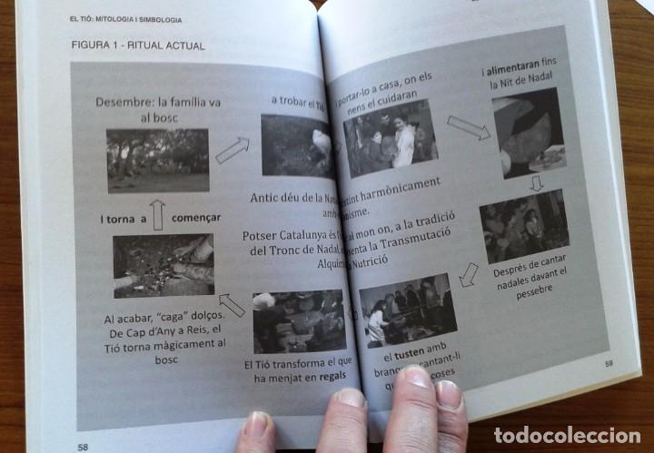 Libros: EL TIÓ. MITOLOGIA I SIMBOLOGIA - JOAN CARLES ALBADALEJO - (Quarentena Ediciones) - Foto 3 - 67831569