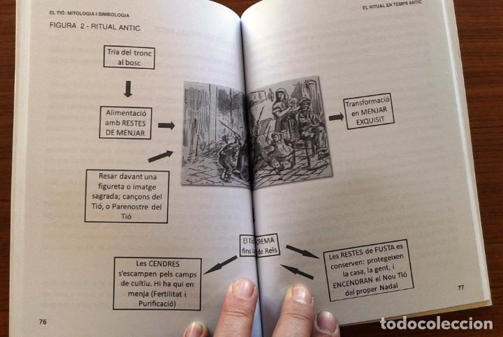 Libros: EL TIÓ. MITOLOGIA I SIMBOLOGIA - JOAN CARLES ALBADALEJO - (Quarentena Ediciones) - Foto 4 - 67831569