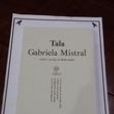 Libros: TALA - GABRIELA MISTRAL. Lote 64551939