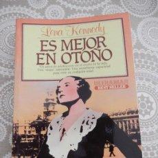 Libros: ES MEJOR EN OTOÑO - LENA KENNEDY - ULTRAMAR. Lote 68571033
