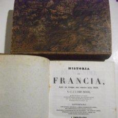 Libros: 2 TOMOS HISTORIA DE FRANCIA POR A.J.C. SAINT PROSPER 1940 CON LAMINAS GRABADAS AL ACERO. Lote 68768581