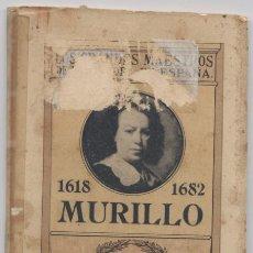 Libros: LOS GRANDES MAESTROS DE LA PINTURA EN ESPAÑA-MURILLO. Lote 68950917