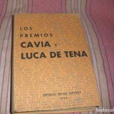 Libros: LOS PREMIOS DE ABC, PREMIOS MARIANO DE CAVIA Y PREMIOS LUCA DE TENA. Lote 69369345