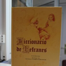 Libros - DICCIONARIO DE REFRANES, LUIS JUNCEDA. ESPASA CALPE/BBV 1995. TAPA DURA. COMO NUEVO - 69879437