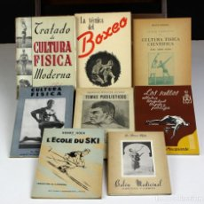Libros: 8254 - LOTE DE 8 EJEMPLARES. VARIOS DEPORTES. (VER DESCRIP). VV. AA. VV. EDIT. 1941/1963.. Lote 69921469