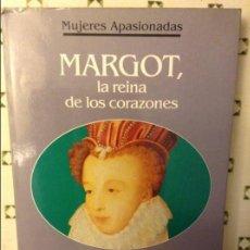 Libros: MARGOT LA REINA DE LOS CORAZONES - NESTOR LUJAN -. Lote 71552375