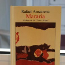 Livres: MARARIA, RAFAEL AROZARENA. EDIRCA 1983. CANARIAS. Lote 208013236