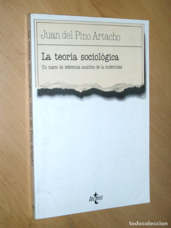 LA TEORIA SOCIOLÓGICA. UN MARCO DE REFERENCIA ANALITICO DE LA MODERNIDAD (Libros sin clasificar)