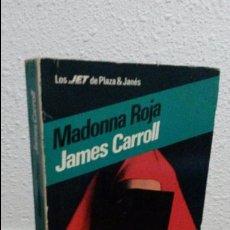 Libros: MADONNA ROJA, JAMES CARROLL. Lote 72907547