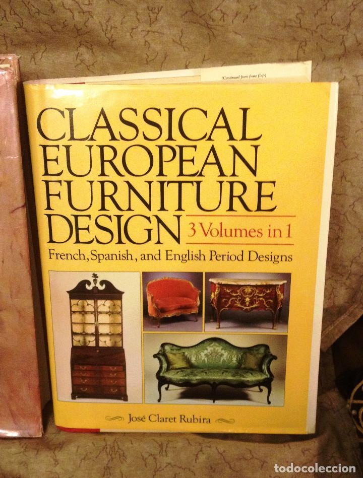 CLASSICAL EUROPEAN FORNITURE- 3 VOLUMENES EN 1- (Libros sin clasificar)