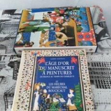 Libros: L AGE D OR DU MANUSCRIT A PEINTURES.. Lote 74141553