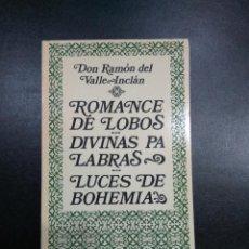 Libros: DON RAMON DEL VALLE-INCLAN 5 OBRAS. Lote 74681795