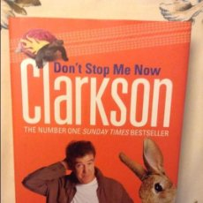 Libros: DON'T STOP ME NOW - CLARKSON -. Lote 74965827
