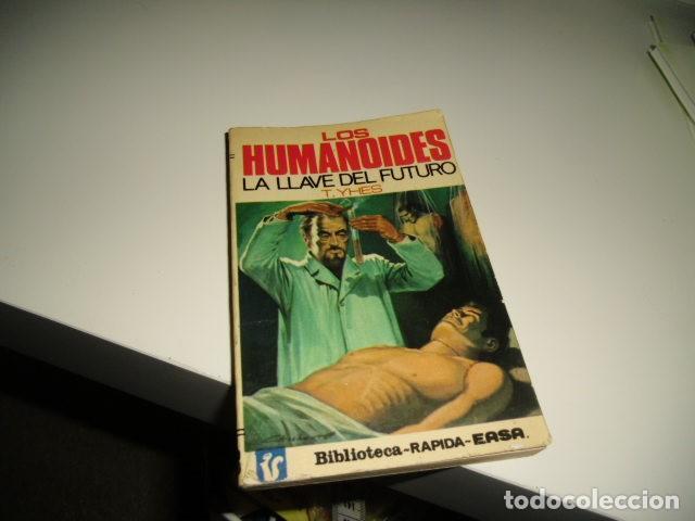 BAL-80657 LIBRO LOS HUMANOIDES LA LLAVE DEL FUTURO (Libros sin clasificar)