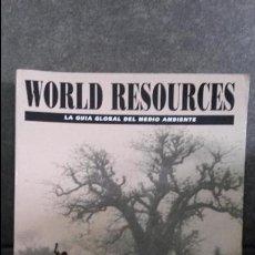 Libros: LA GUIA GLOBAL DEL MEDIO AMBIENTE. WORLD RESOURCES. POBLACION Y MEDIO AMBIENTE. ECOESPAÑA 1996.. Lote 76317039