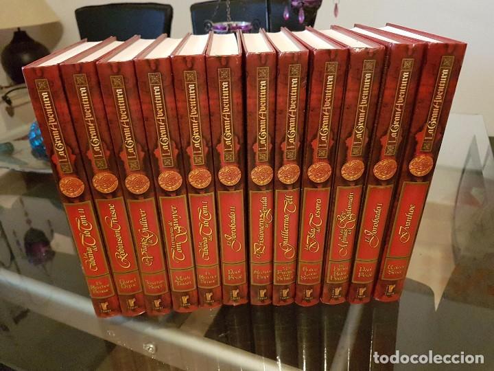 COLECCIÓN COMPLETA LA GRAN AVENTURA 12 TOMOS , EDICIONES RUEDA (Libros Nuevos - Literatura - Narrativa - Aventuras)