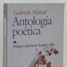 Libros: MISTRAL, GABRIELA: ANTOLOGÍA POÉTICA (EDAF) (CB). Lote 78183617