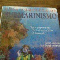 Libros: GUÍA COMPLETA DE SUBMARINISMO HERMANN BLUME. Lote 78263249