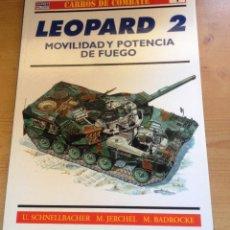 Libros: CARROS DE COMBATE- RBA- EDIT OSPREY MILITARY -LIBRITO Nº 1- PERFECTO. Lote 80094213