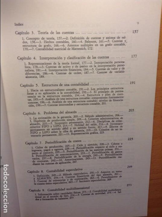 Teoria Y Estructura De La Nueva Contabilidad Enrique Ballestero