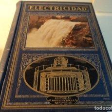 Libros: J. MARTÍN ROMERO: ELECTRICIDAD - 1947. Lote 82456132
