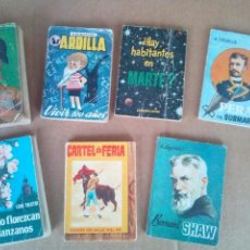 Libros: LOTE 7 ANTIGUOS MINILIBROS ENCICLOPEDIA PULGA Y ARDILLA. Lote 39903301