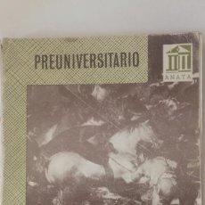 Livres: HISTORIA DE ESPAÑA CONTEMPORÁNEA (CON TEXTOS Y DOCUMENTOS). PREUNIVERSITARIO - ANTONIO RUMEU DE ARMA. Lote 83254604