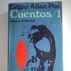 Libros: EDGAR ALLAN POE-CUENTOS / 1-ALIANZA EDITORIAL. Lote 84314476