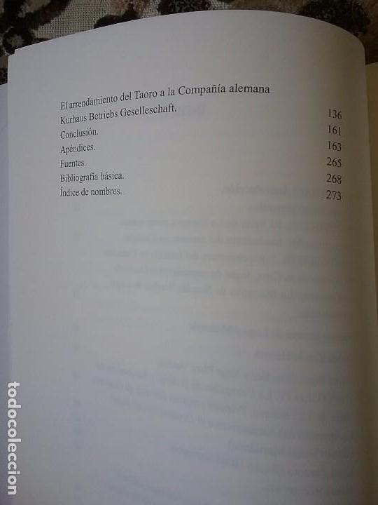Libros: Del hotel Martianez al Hotel Taoro, de Nicolás González Lemus. Dedicado (Canarias, turismo) - Foto 5 - 85331736