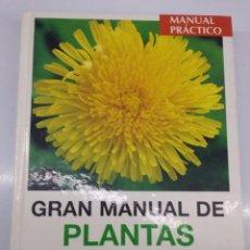 Libros: GRAN MANUAL DE PLANTAS MEDICINALES MANNFRIED PAHLOW EVEREST. Lote 85504252