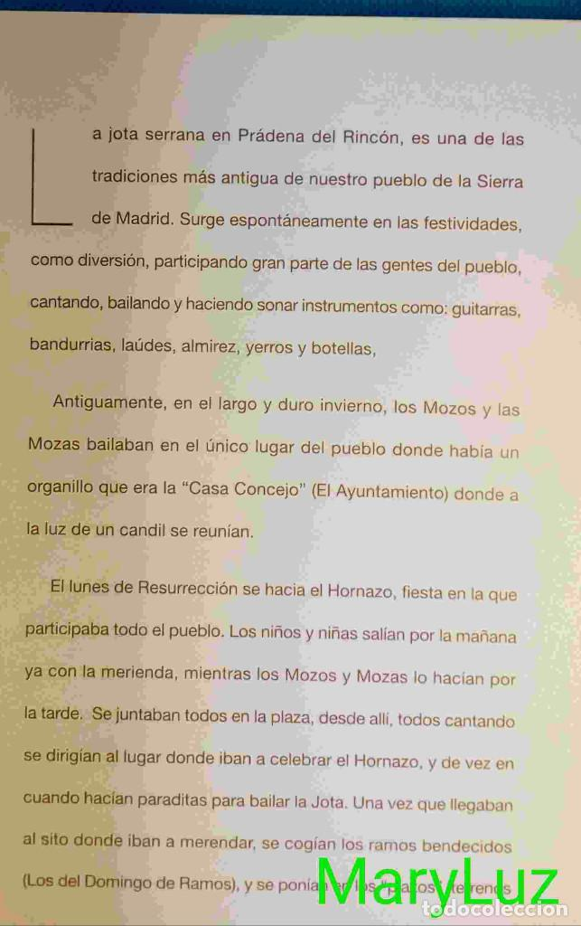 Libros: JOTAS DE PRÁDENA DEL RINCÓN (Madrid). Con fotos. - Foto 2 - 85636900