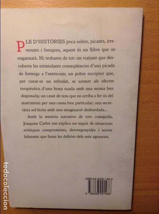 Libros: ELOGI DE LA FORMIGA - JOAQUIM CARBÓ - - Foto 2 - 86152484