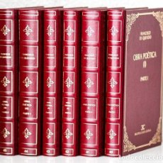 Libros: QUEVEDO, FRANCISCO DE: OBRA POÉTICA (6 VOLS.) (CASTALIA) (CB). Lote 86428480